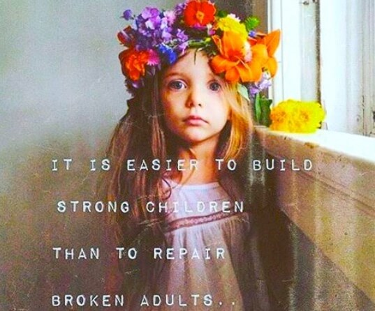 easier to build strong children than repair